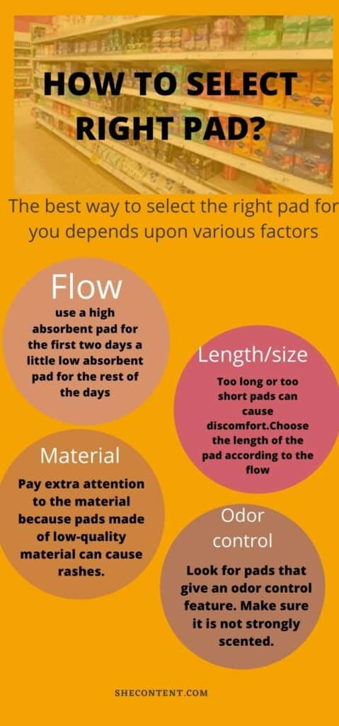 how to select right pad?
