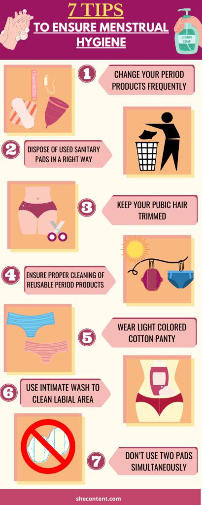 7 tips to ensure menstrual hygiene