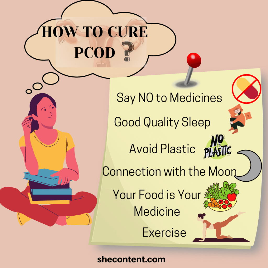 HOW TO CURE PCOD IN INDIAN WOMEN
