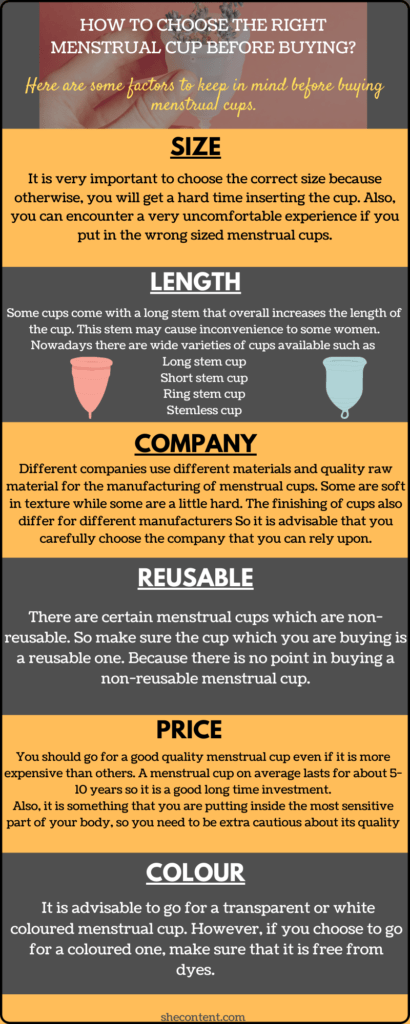 HOW TO CHOOSE THE RIGHT MENSTRUAL CUP BEFORE BUYING? 7 BEST MENSTRUAL CUPS IN INDIA