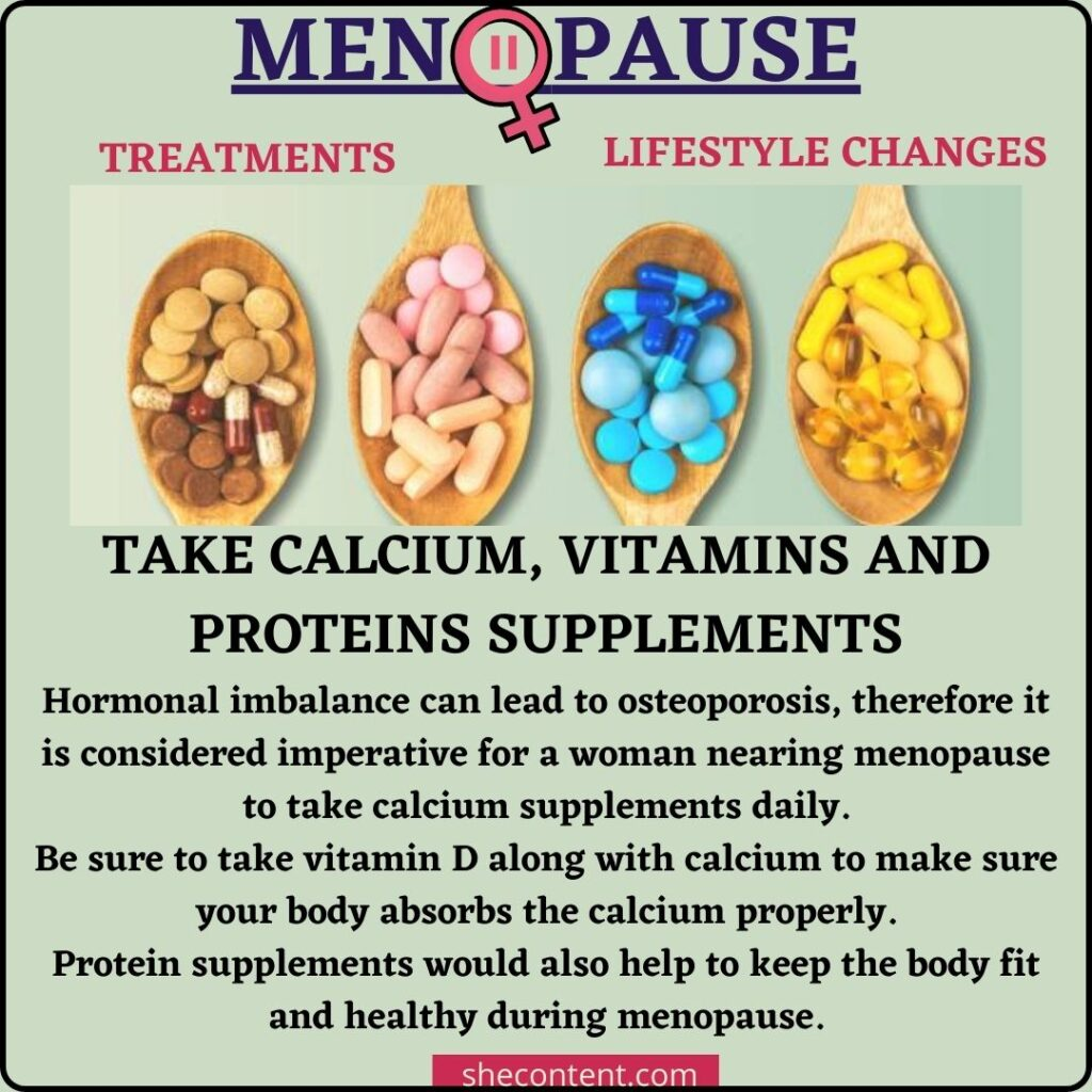 menopause meaning and cure