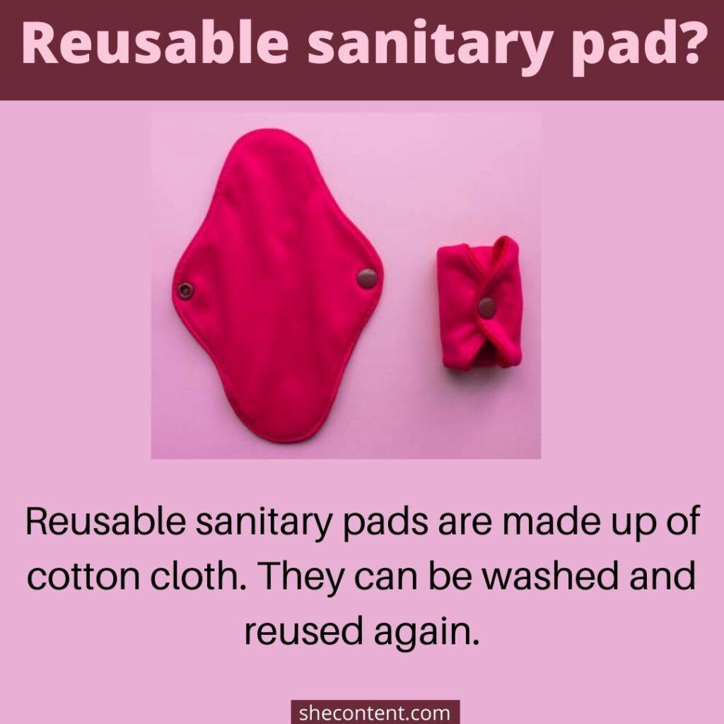 period product-reusable sanitary pad