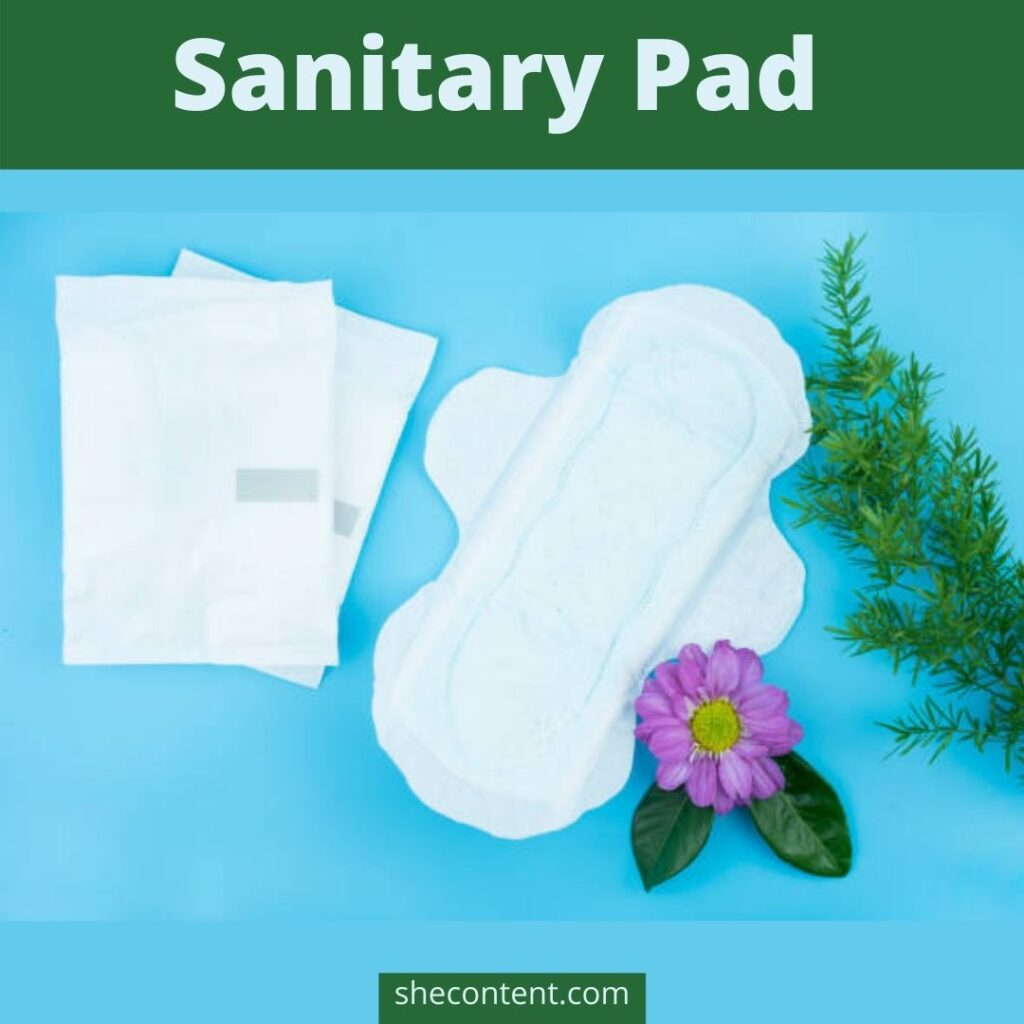 FIrst period- sanitary pads