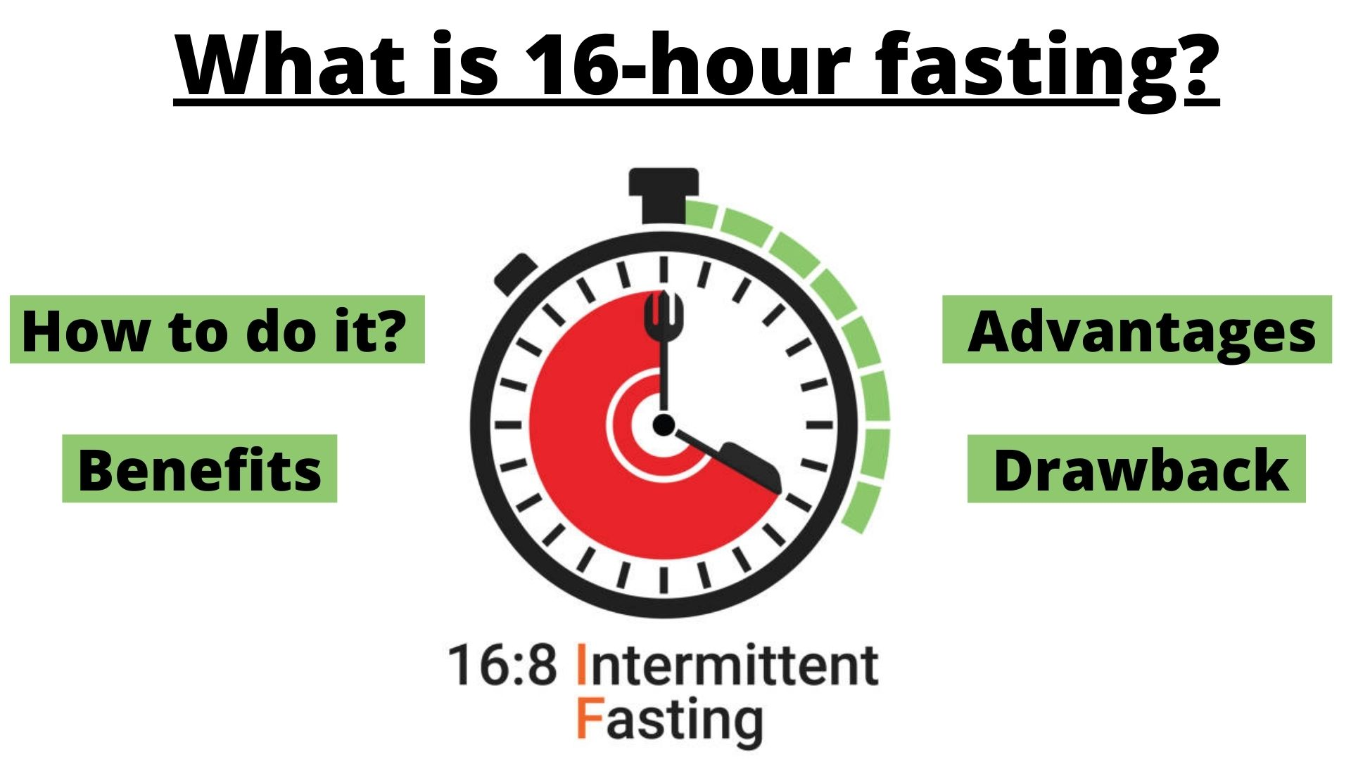 BENEFITS OF 16-HOUR FASTING